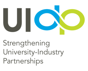 UIDP secondary logo with new tagline